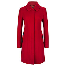 Buy Planet Seam Detail Coat, Mid Red Online at johnlewis.com
