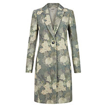Buy Hobbs Eden Coat, Multi Online at johnlewis.com