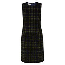 Buy Hobbs Acacia Check Dress, Navy Online at johnlewis.com