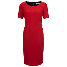 Buy Planet Ponte Shift Dress, Mid Red Online at johnlewis.com
