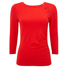 Buy Phase Eight Bianka Button Knit Top Online at johnlewis.com
