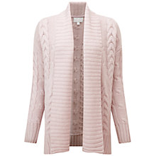 Buy Pure Collection Luxury Cashmere Abercorn Cardigan, Oyster Online at johnlewis.com