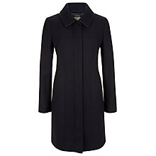 Buy Planet Collar Coat, Navy Online at johnlewis.com