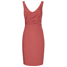 Buy Reiss Alessia Fitted Day Dress, Peony Online at johnlewis.com