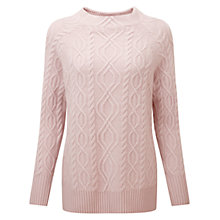 Buy Pure Collection Balfern Luxury Jumper, Oyster Online at johnlewis.com
