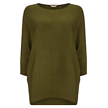 Buy Phase Eight Becca Batwing Jumper, Olive Online at johnlewis.com