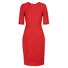 Buy Hobbs Blair Dress, True Red Online at johnlewis.com
