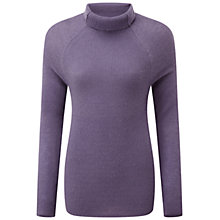Buy Pure Collection Gaisford Polo Cashmere Jumper, Smokey Mauve Online at johnlewis.com