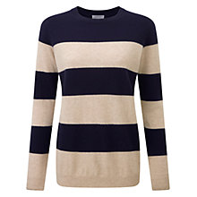 Buy Pure Collection Cale Cashmere Jumper, Multi Online at johnlewis.com