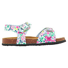 Buy Little Joule Tippy Toes Printed Sandals Online at johnlewis.com