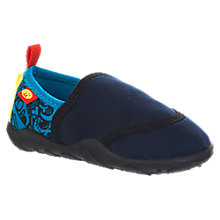 Buy Animal Children's Bram Beach Shoes, Indigo Online at johnlewis.com
