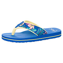Buy Animal Children's Swish Toepost Flip Flops, Blue Online at johnlewis.com