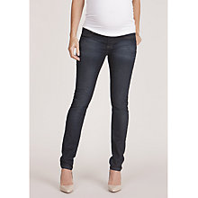 Buy Séraphine Amiah Maternity Skinny Jeans, Dark Blue Online at johnlewis.com