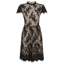 Buy Oasis Gothic Lace Dress, Black Online at johnlewis.com