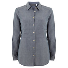 Buy Mint Velvet Chambray Shirt, Blue Online at johnlewis.com