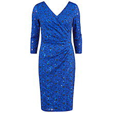 Buy Gina Bacconi Lace Wrap Dress, Cobalt Online at johnlewis.com