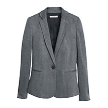 Buy Mango Suit Blazer, Dark Grey Online at johnlewis.com