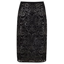 Buy Mint Velvet Baroque Sequin Pencil Skirt, Multi Online at johnlewis.com