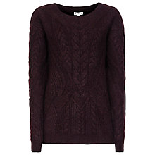 Buy Reiss Maia Cable Knit Jumper Online at johnlewis.com