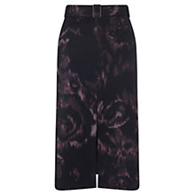 Buy Jigsaw Taffeta Rose Skirt, Multi Online at johnlewis.com