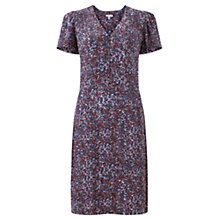 Buy Jigsaw Scattered Floral Tea Dress, Multi Online at johnlewis.com