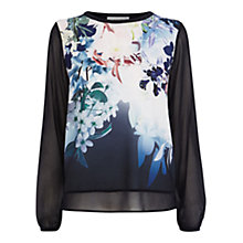 Buy Coast Edetta Knit Top, Multi Online at johnlewis.com