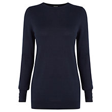 Buy Warehouse Button Cuff Jumper Online at johnlewis.com