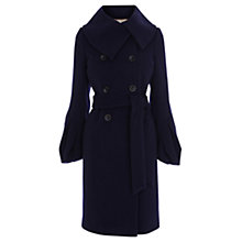 Buy Coast Innesbruck Pea Coat, Navy Online at johnlewis.com