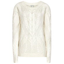 Buy Reiss Cable Knit Jumper Online at johnlewis.com