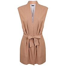 Buy Miss Selfridge Judo Wrap Jacket, Nude Online at johnlewis.com