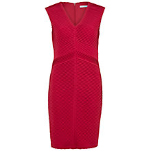Buy Gina Bacconi Stitched Jersey Pleat Dress Online at johnlewis.com