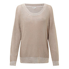 Buy Reiss Willa Scoop Neck Jumper Online at johnlewis.com