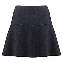 Buy Jigsaw Speckled Flippy Skirt, Navy Online at johnlewis.com