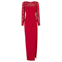 Buy Coast Reeva Maxi Dress, Red Online at johnlewis.com