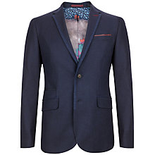 Buy Ted Baker Illion Modern Fit Jacket, Navy Online at johnlewis.com