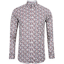 Buy Ted Baker Britpop Paisley Print Shirt, White Online at johnlewis.com