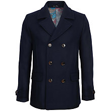 Buy Ted Baker T for Tall Mackrul Double Breasted Peacoat Online at johnlewis.com