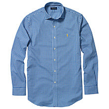 Buy Polo Golf by Ralph Lauren Spread Estate Shirt, Blue/White Online at johnlewis.com