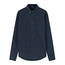 Buy Jigsaw Shadow Check Slim Fit Shirt Online at johnlewis.com