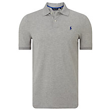 Buy Polo Golf by Ralph Lauren Stretch Fit Polo Shirt, Spring Heather Online at johnlewis.com