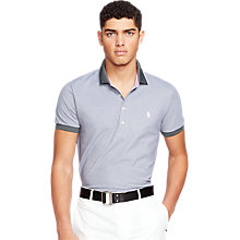 Buy Polo Golf by Ralph Lauren 3 Button Polo Shirt, Charcoal Grey Online at johnlewis.com