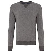 Buy Polo Golf by Ralph Lauren Jersey Top, Herringbone Online at johnlewis.com