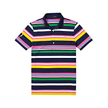 Buy Polo Golf by Ralph Lauren Pro Fit RLX Polo Shirt, French Navy Multi Online at johnlewis.com