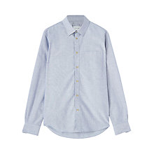 Buy Jigsaw Oxford Concealed Button Down Slim Fit Shirt Online at johnlewis.com