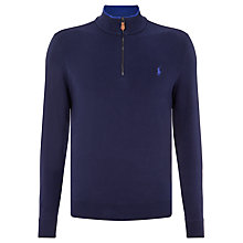 Buy Polo Golf by Ralph Lauren Jersey Top, French Navy Online at johnlewis.com