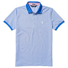 Buy Polo Golf by Ralph Lauren Jersey Polo Shirt, Diplomat Blue Online at johnlewis.com