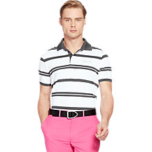 Buy Polo Golf by Ralph Lauren Short Sleeve Stripe Polo Shirt Online at johnlewis.com