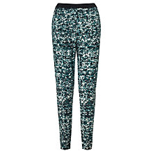 Buy Kin by John Lewis Shattered Floral Trousers, Blue Online at johnlewis.com