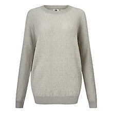 Buy Kin by John Lewis Ripple Knit Sweatshirt Online at johnlewis.com