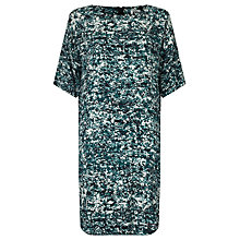 Buy Kin by John Lewis Shattered Floral Dress, Blue Online at johnlewis.com